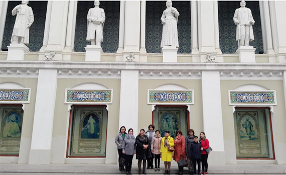 A group of employees of the Institute of Information Technology visited excursion in the National Museum of Azerbaijan Literature