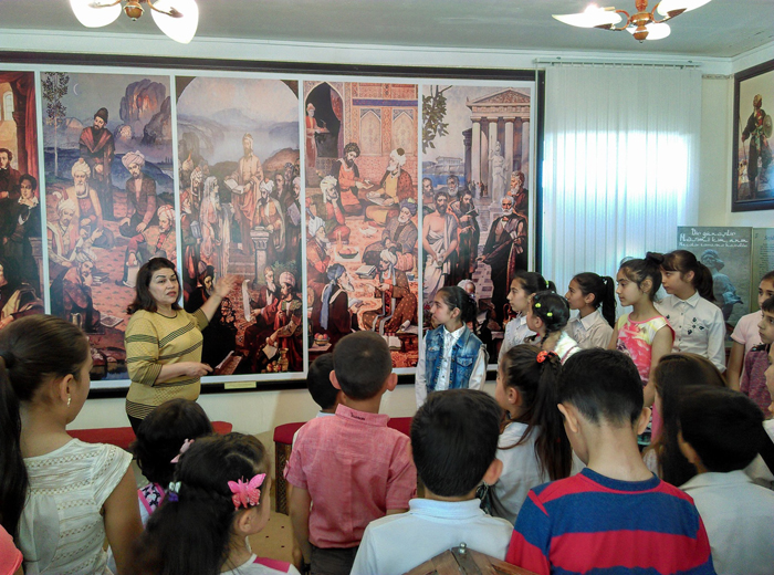 "The ""Open Door"" Day was held at the Aran regional branch of Literature Museum"