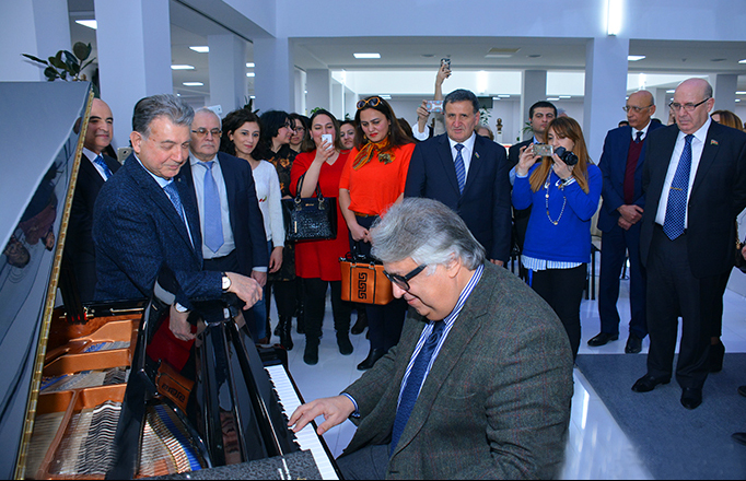 ANAS held a musical lecture dedicated to the outstanding composer Uzeyir Hajibeyli
