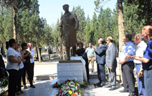 Opening ceremony of notable scientist and social figure, Professor Javad Heyat's monument