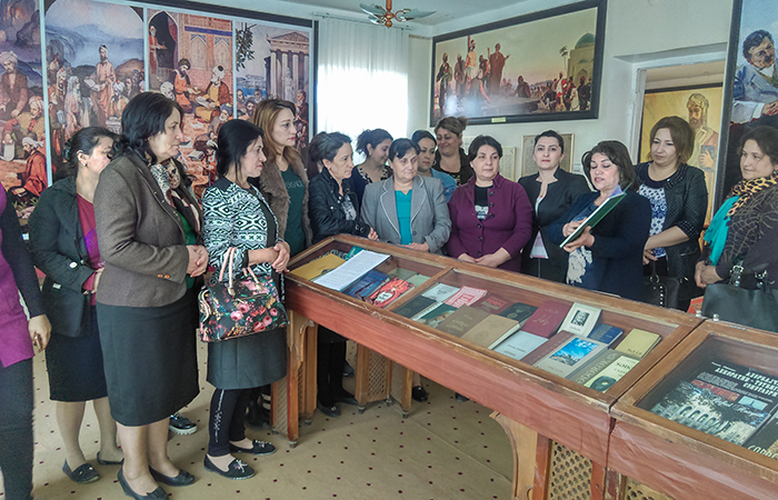 Medical workers visited the Aran Regional Department of the National Museum of Azerbaijan Literature