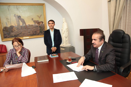 Discussed thesis topics in an assembly of Academic Council on Problems of Philology