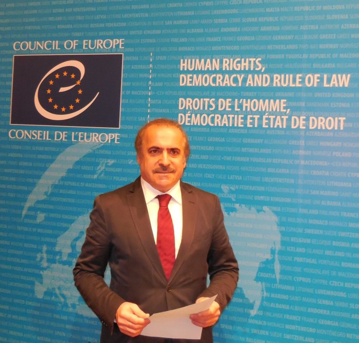 Academic Rafael Huseynov reported at the meeting of Parliamentary Assembly of the Council of Europe