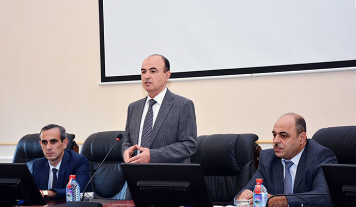 ANAS held a meeting in connection of the Nizami project of the European Union
