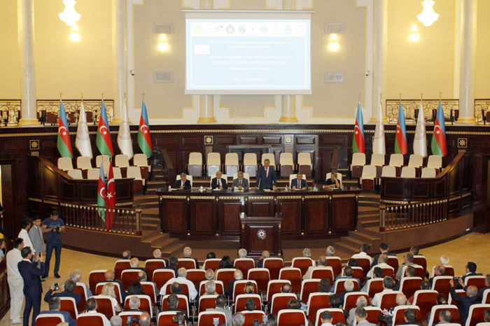 "International scientific conference on ""Common historical periods and relations of East and West Turkic world"" started its work"
