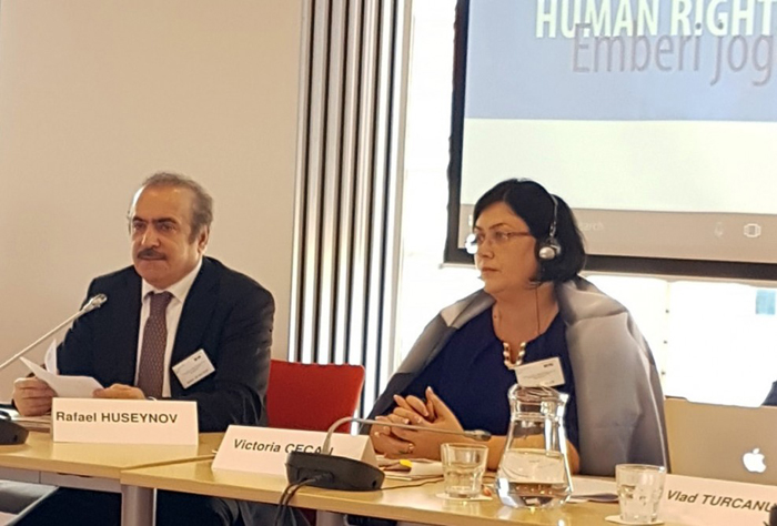 At the regional conference of the Council of Europe, was mentioned the achievements of the Azerbaijan press