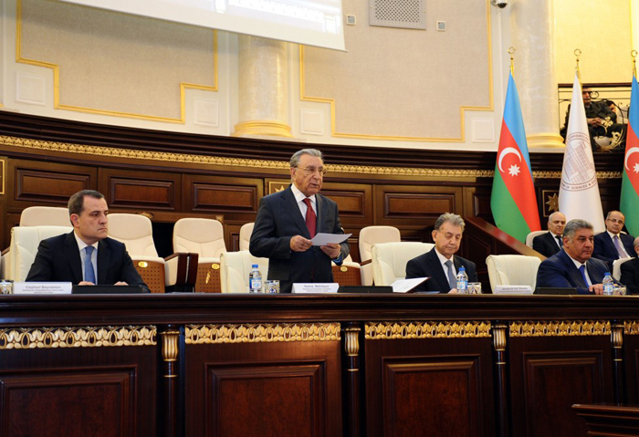 The 1st Congress of Young Scientists of Azerbaijan