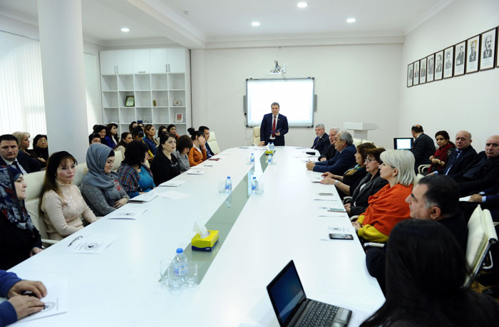 "Presentation of the portal ""www.azerbaycandili.az"" held"
