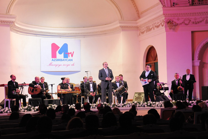 "A solemn evening dedicated to the launch of satellite broadcasting ""Muz TV Azərbaycan"""