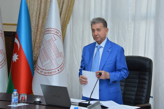 The first meeting of Presidium of ANAS was held in new composition