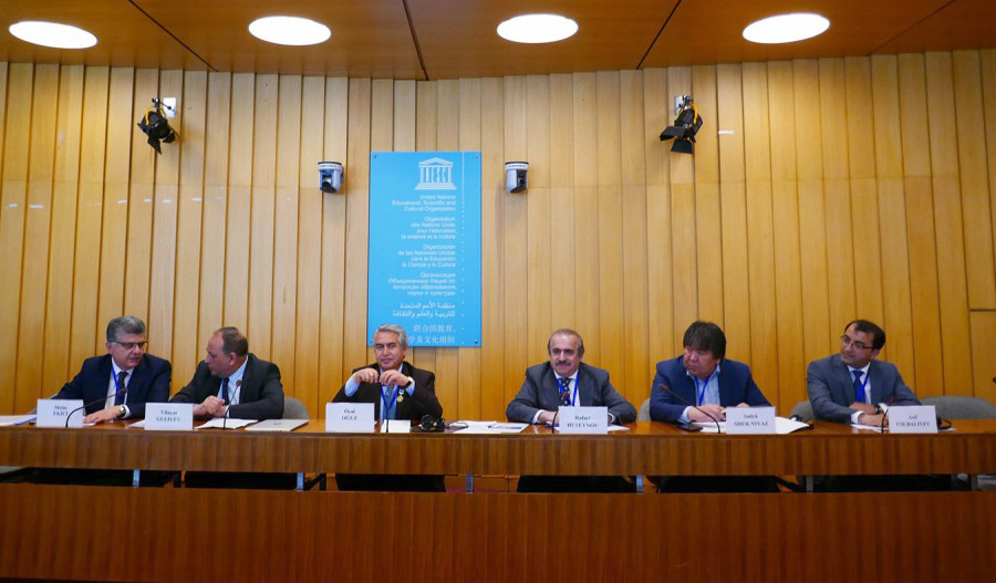 "Academician Rafael Huseynov participates at UNESCO panel discussion on ""The Great Steppe: its Cultural heritage and role in the World History"""