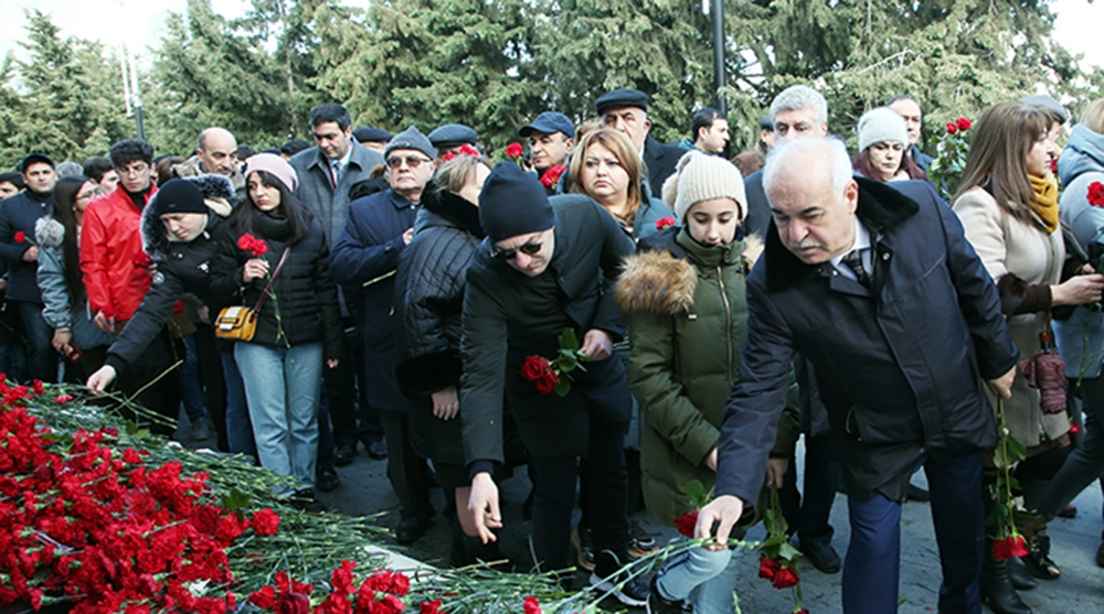 Representatives of the scientific community visited Alley of Martyrs