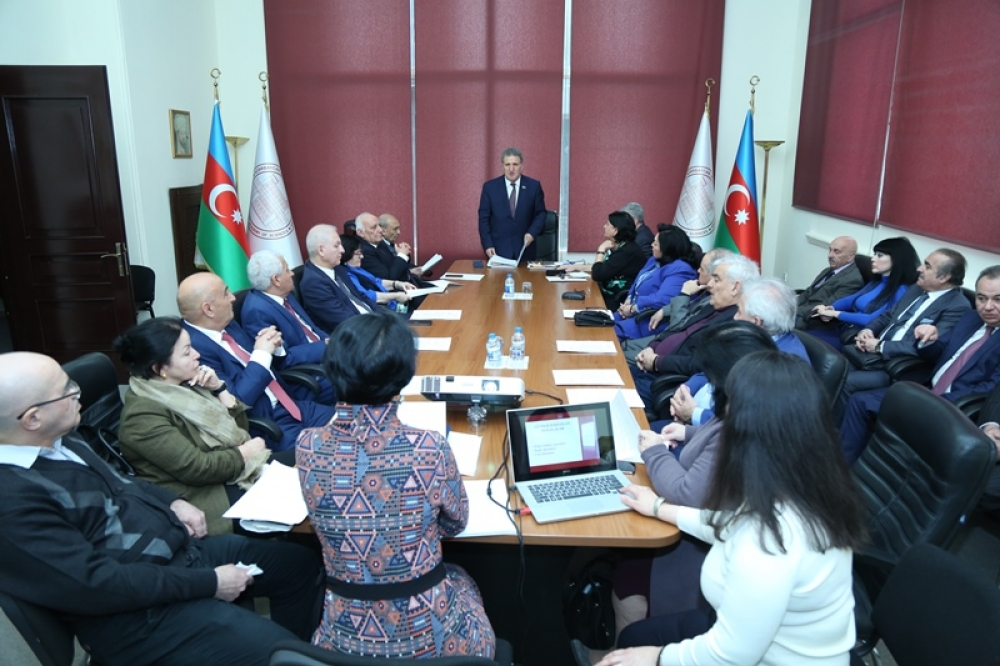 The first meeting of the Scientific Council of the Division of Humanities and Social Sciences