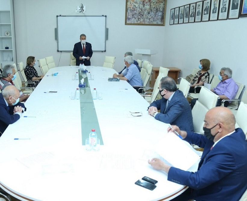 "Discussions were held on the publishing preparation of the monograph ""Irevan- as it is"""