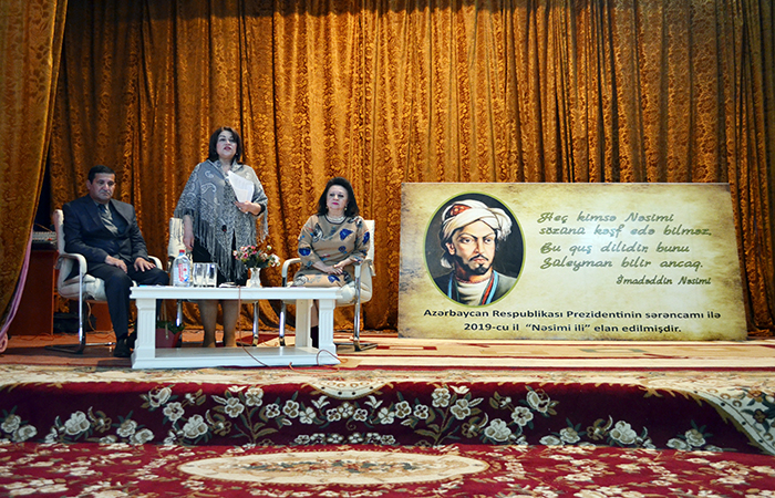 "Scientific-practical conference titled ""Power of Nasimi's word "" in Kurdamir"