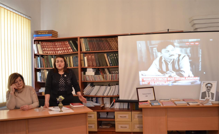 Celebrated People's writer Ismayil Shikhli's 100th anniversary