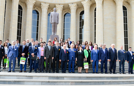 Young scienists and specialists of National Museum of Azerbaijan Literature attended the international forum in Ganja