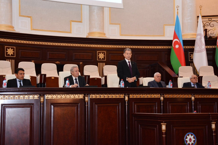 An outstanding scientist Khudu Mammadov's 90th anniversary celebrated