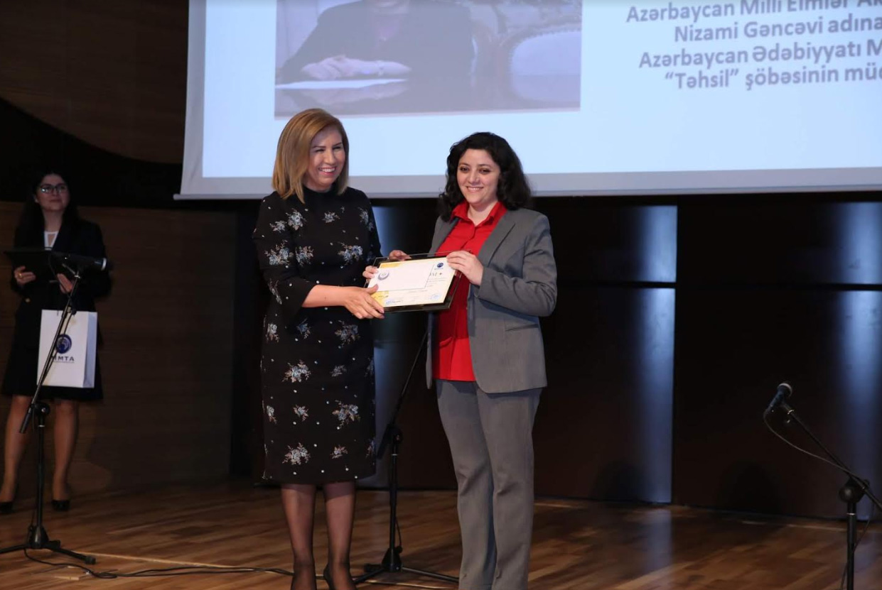 "Employee of Nizami Museum was awarded the second place in the competition titled ""Women in the Republic of Light"""