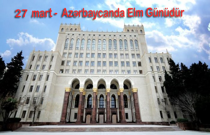 Today is Science Day in Azerbaijan