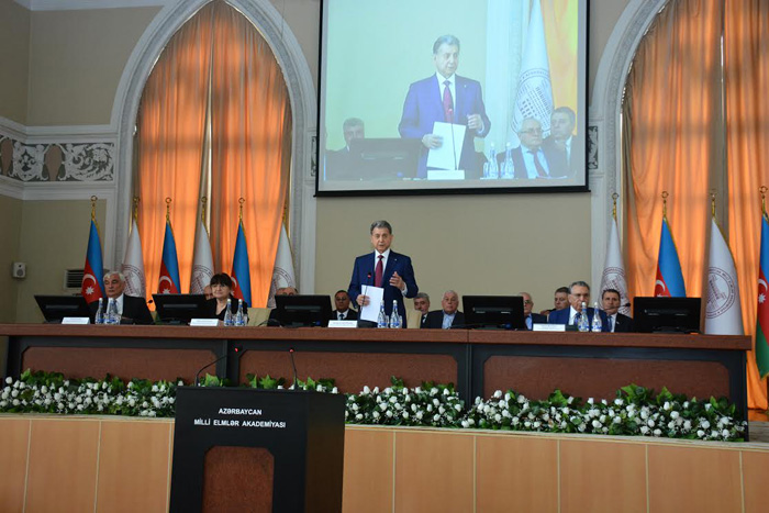 Presidium of Azerbaijan National Academy of Sciences presents the results of the elections to the membership of ANAS