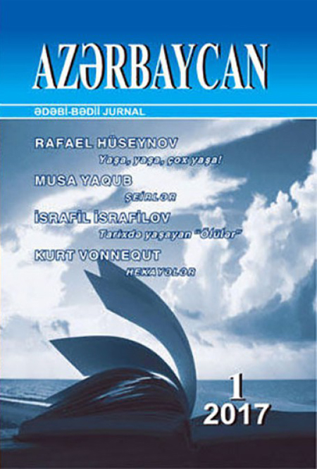 "New issue of the journal ""Azerbaijan"" begins with article""Live, live, live long!"" by Academician Rafael Huseynov"