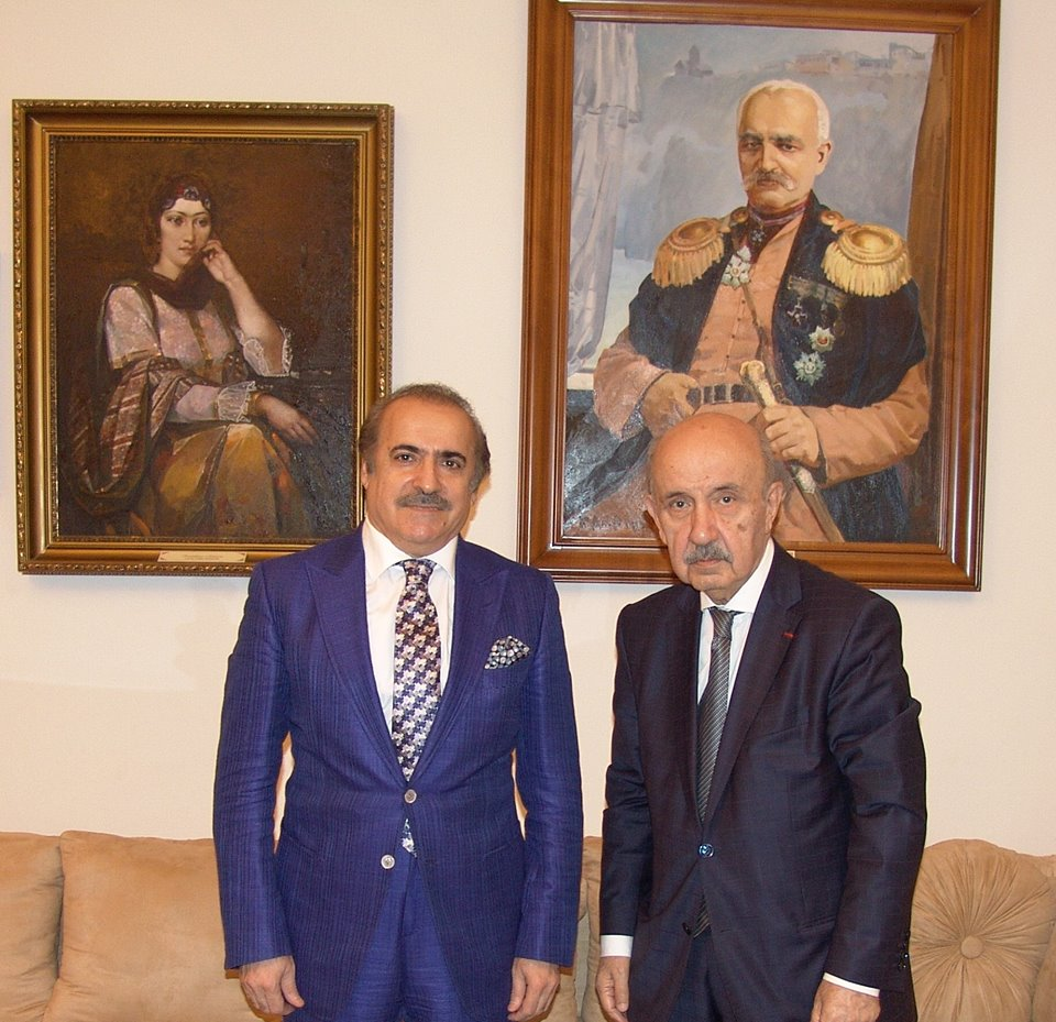 Meeting with well-known social and political figure Ramiz Abutalibov