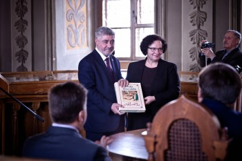 Presentation of a bulk of works by the outstanding Azerbaijani writer Jalil Mammadguluzadeh held in Lithuania