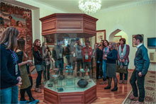 Attendees of International Multiculturalism winter school visited ANAS National Museum of Azerbaijan Literature