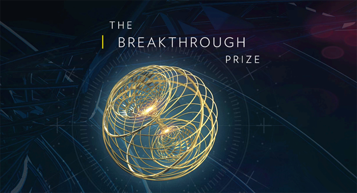 "Announced the names of the winners of ""Breakthrough Prize"""