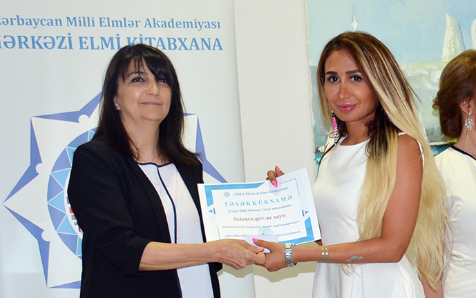Central Scientific Library awarded media representatives with the National Press Day