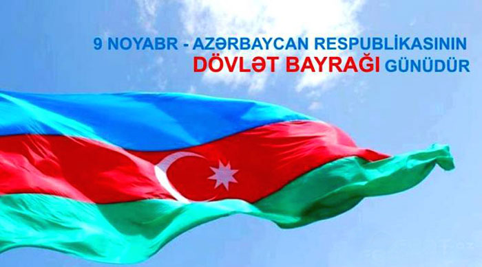 November 9 - Day of National Flag of the Republic of Azerbaijan