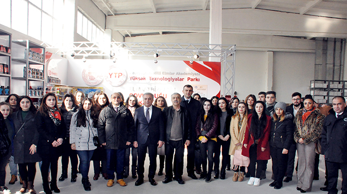 Young scientists of ANAS have become acquainted with the production process of the High Technologies Park