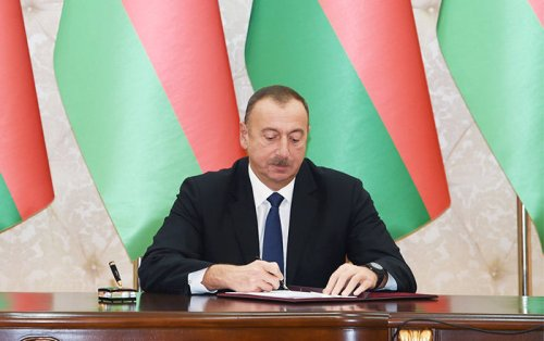 Order of the President of the Republic of Azerbaijan on the celebration of the 110th anniversary of academician Hamid Arasli