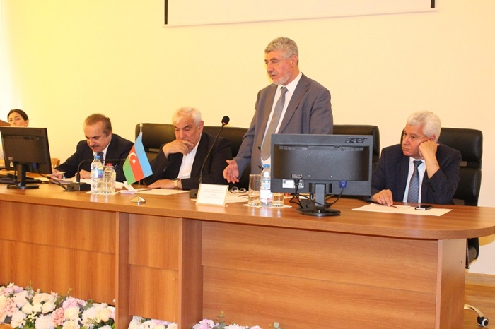 ANAS Division of Humanitarian Sciences held a next Bureau meeting
