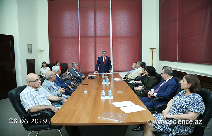 The General Meeting of the Department of Humanitarian Sciences of ANAS was held
