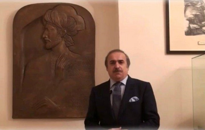 Nasimi's bas-relief was donated to the National Museum of Azerbaijani Literature