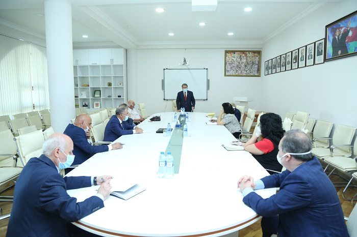 ANAS held a meeting on the implementation of issues arising from the challenges of the President
