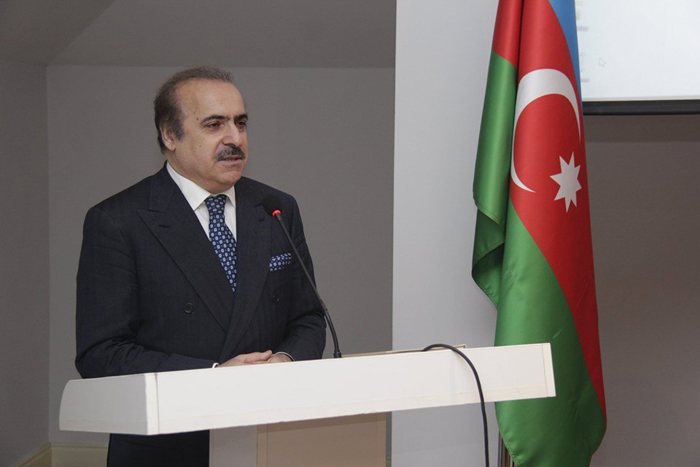 Academician Rafael Huseynov reported at a scientific conference, dedicated to the 101st anniversary of the Azerbaijan Democratic Republic