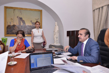 Next meeting of the Academic Council discussed a number of issues on philological problems
