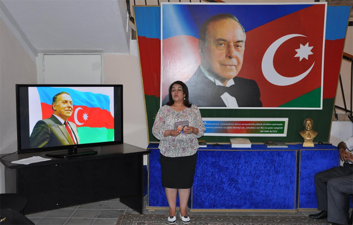 The coming of great leader Heydar Aliyev to the power is the beginning of national renaissance in Azerbaijan