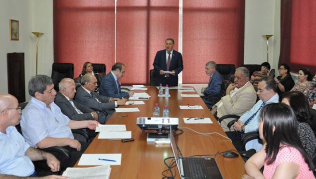 Humanitarian Sciences Department holds the next general meeting