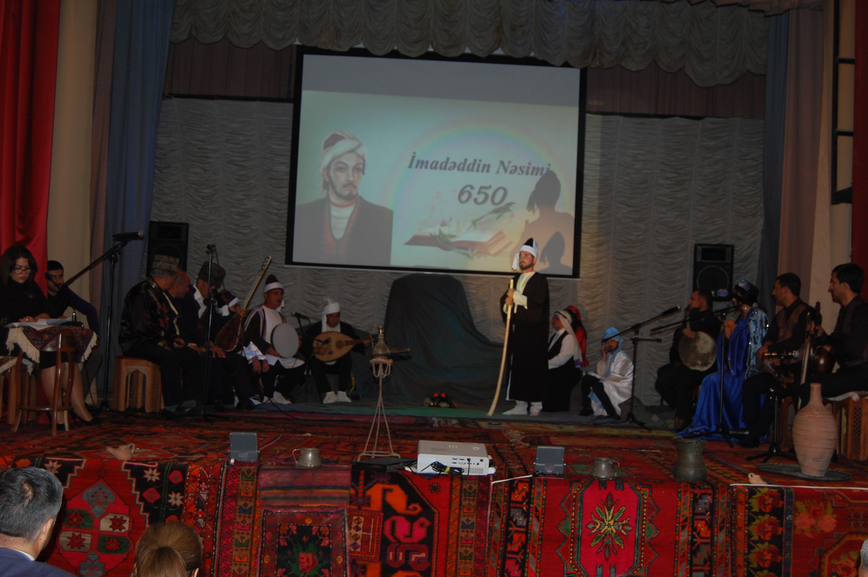 Literary-art assembly dedicated to great poet Nasimi