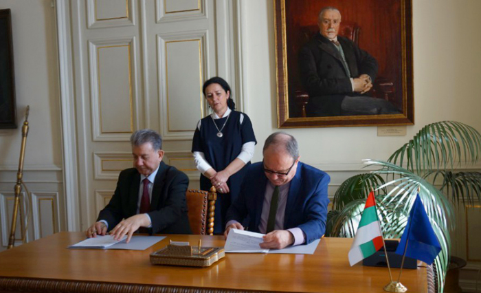 ANAS and the Academy of Sciences of Bulgaria signed an agreement on cooperation in the field of science and technology