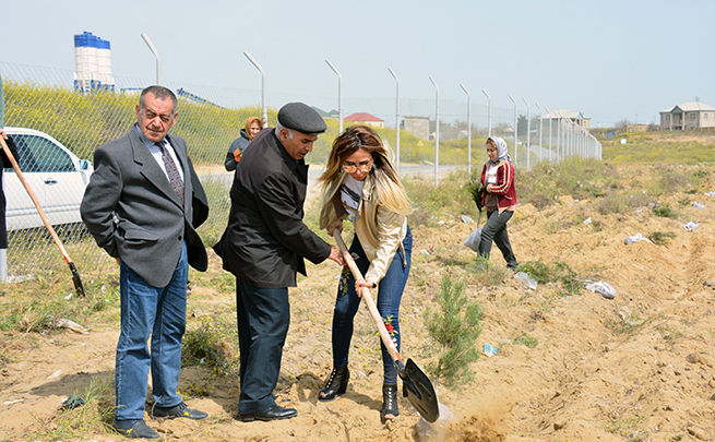 "Community work days around the residential complex ""Science City"" held"