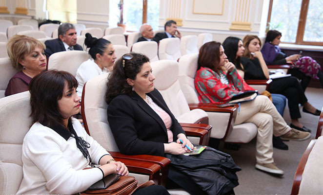 State-of-the-art of educational process was discussed at ANAS