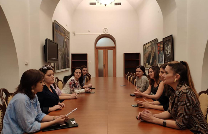 A report meeting of the Young Scientists and Specialists Council was held at the museum
